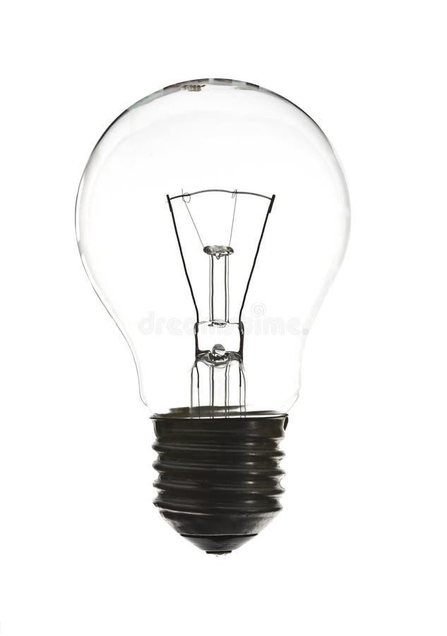 lumière claire d'ampoule photographie stock libre de droits