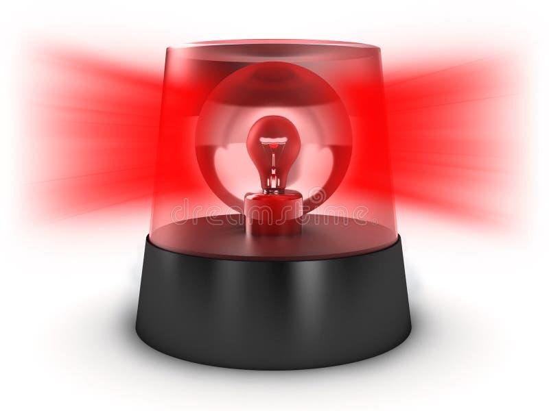 Lumière clignotante illustration de vecteur