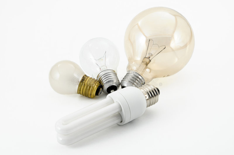 Download Lumière d'ampoules photo stock. Image du électrique, efficace - 8650136