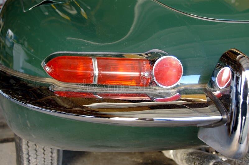 Lumière d'arrière de jaguar photo libre de droits