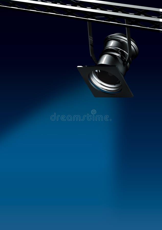 Lumière d'endroit illustration de vecteur