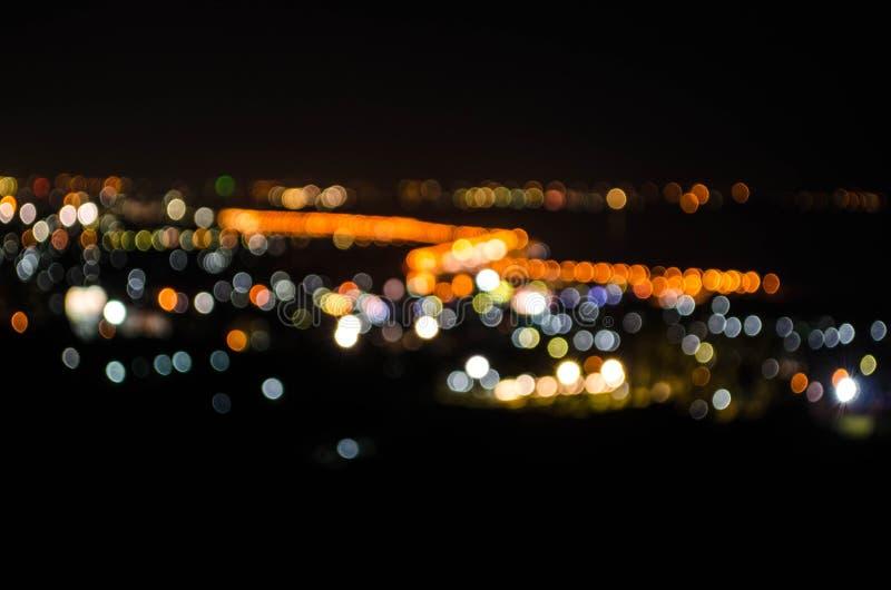 Lumière de Bokeh photos libres de droits