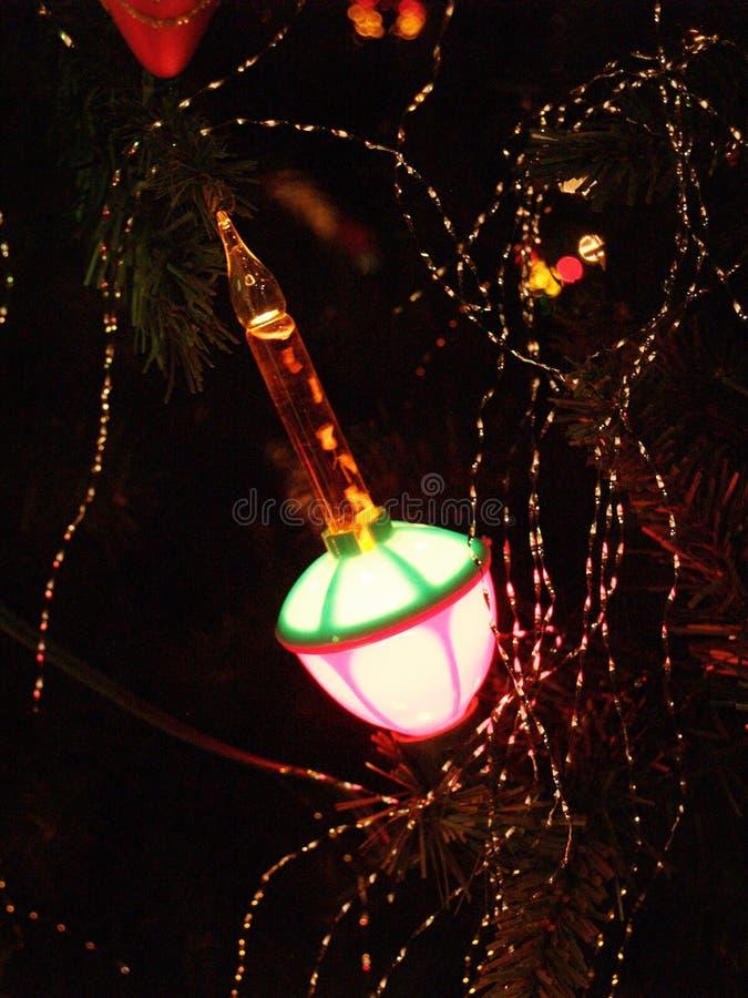 Lumière de bulle photo stock