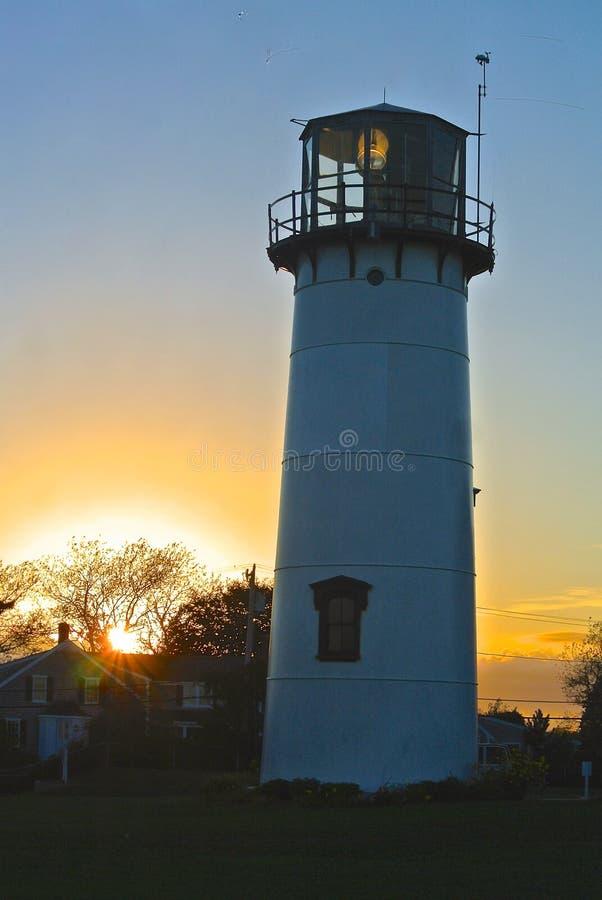 Lumière de Chatham - Cape Cod photo libre de droits