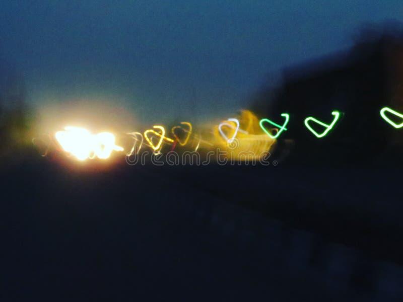 Lumière de coeur image stock