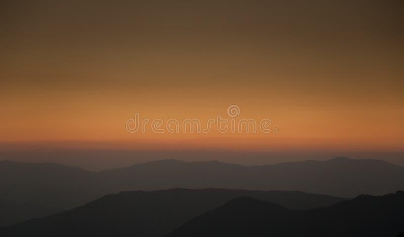 Lumière de coucher du soleil photos stock