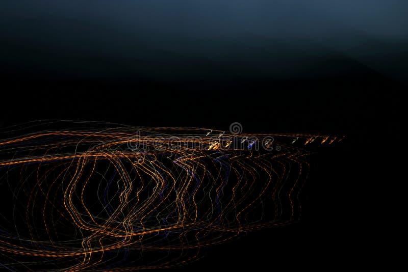 Lumière de courbes illustration de vecteur