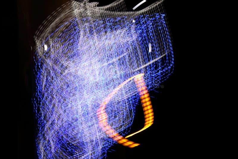 Lumière de courbes illustration libre de droits