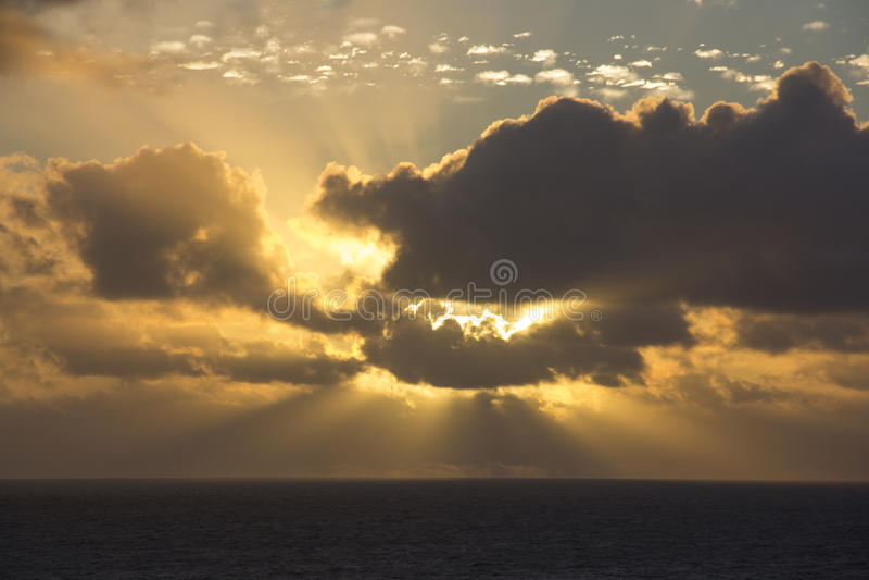 Lumière de Dieu photographie stock libre de droits