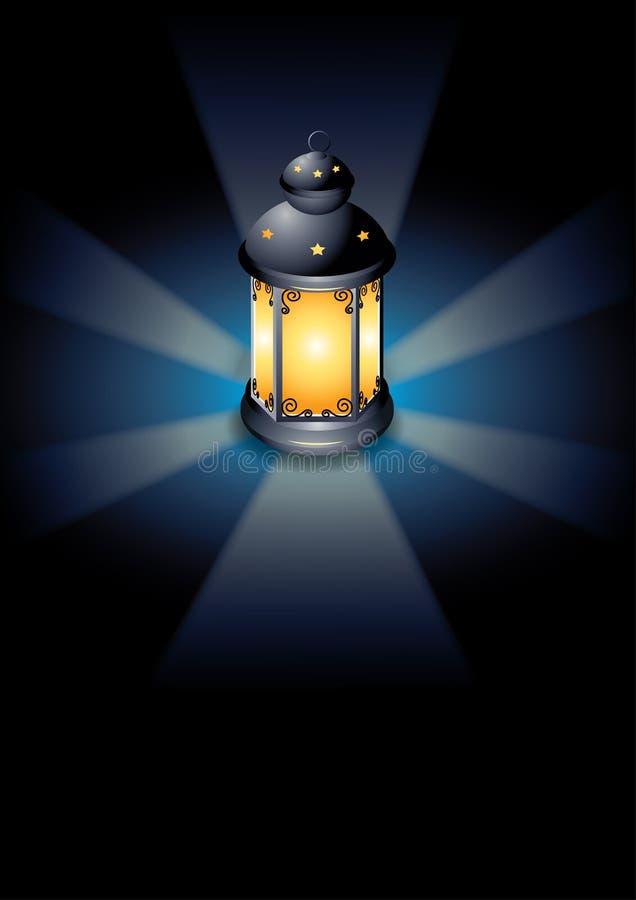 Lumière de fête décorative illustration de vecteur