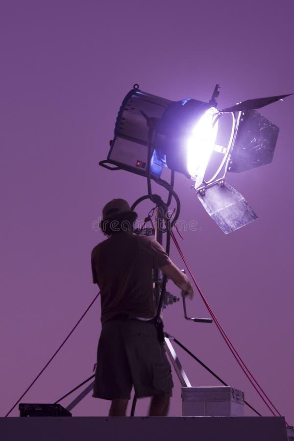 Lumière de film photo stock