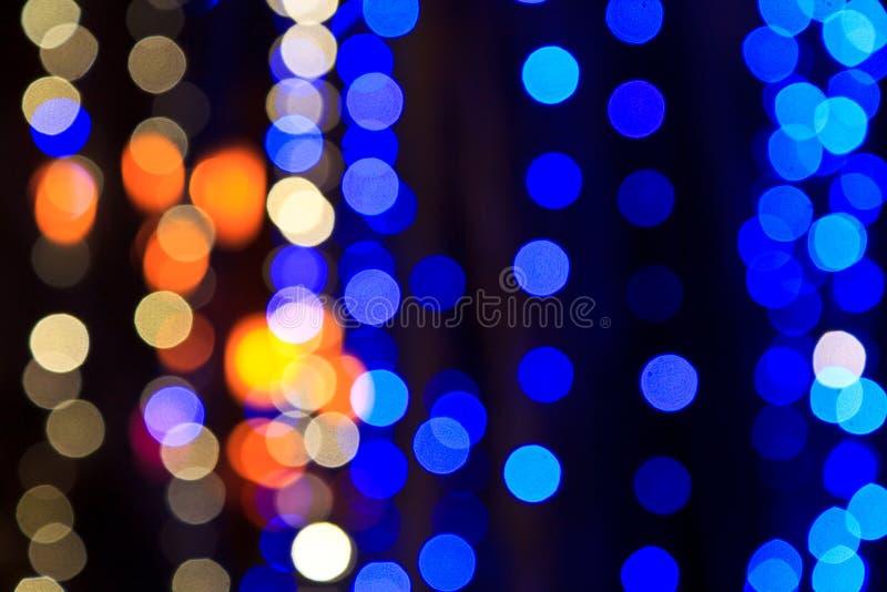 lumière De-focalisée ou Bokeh image stock