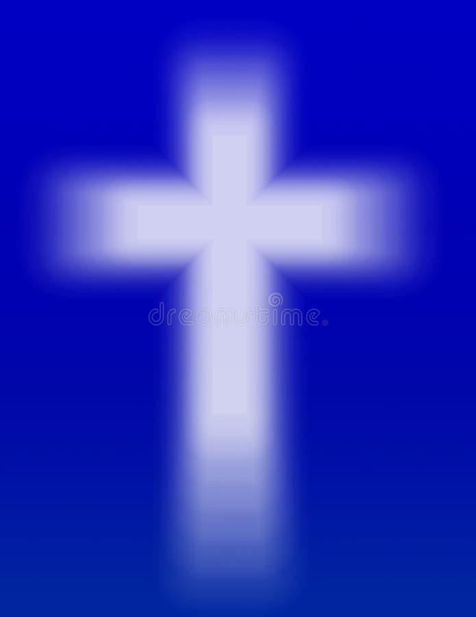 Lumière de la croix illustration stock