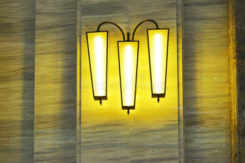 Lumière de luxe de mur image libre de droits