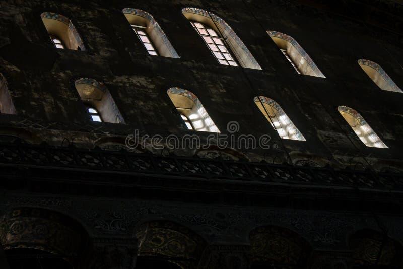 Lumière de mosquée, Istanbul, Turquie photos libres de droits