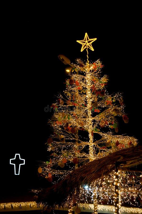 Lumière de Noël photographie stock libre de droits