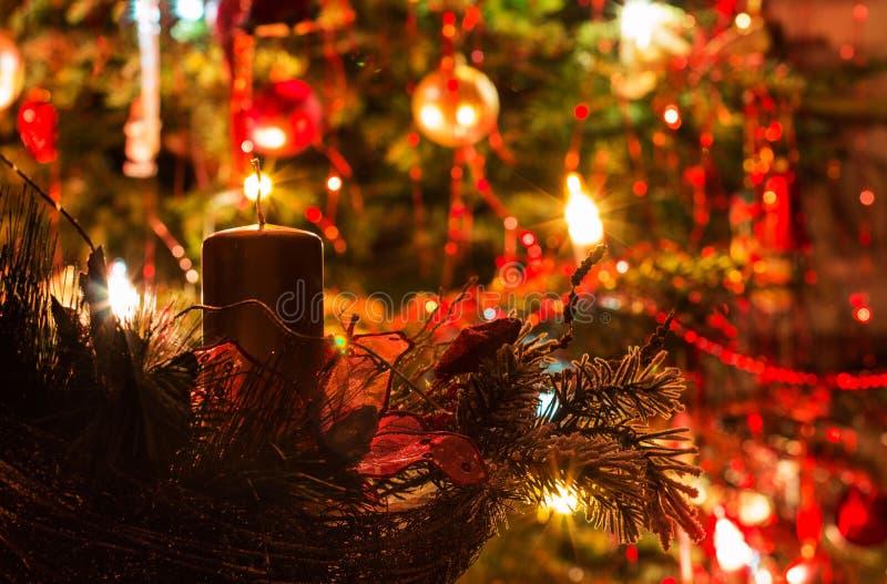 Lumière de Noël images libres de droits