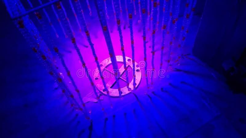 Lumière de nuit photographie stock libre de droits