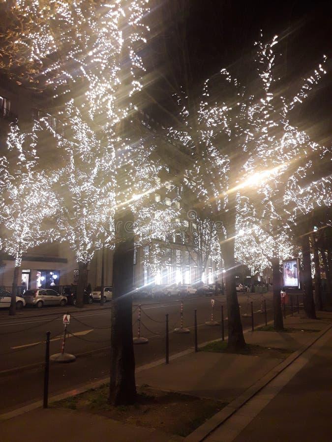 Lumière 2 de Paris image libre de droits