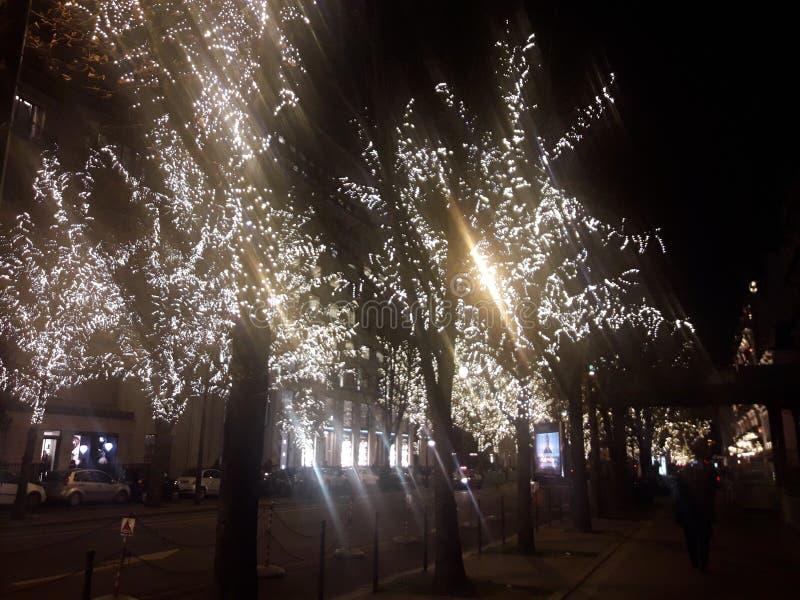 Lumière 3 de Paris photo libre de droits