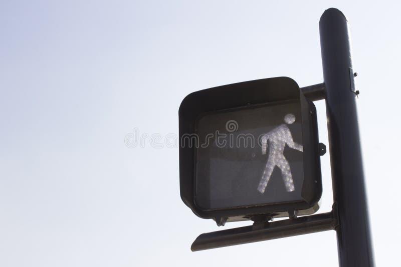 Lumière de passage pour piétons photographie stock libre de droits