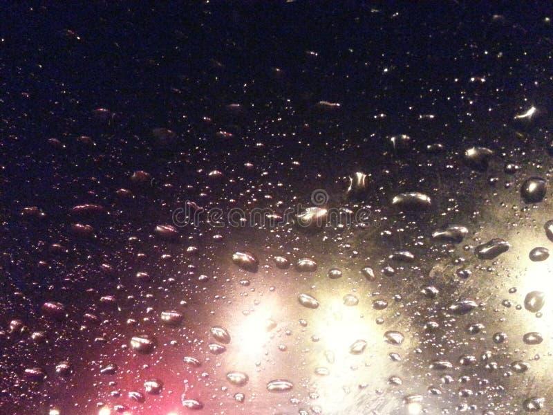 Lumière de pluie photographie stock libre de droits