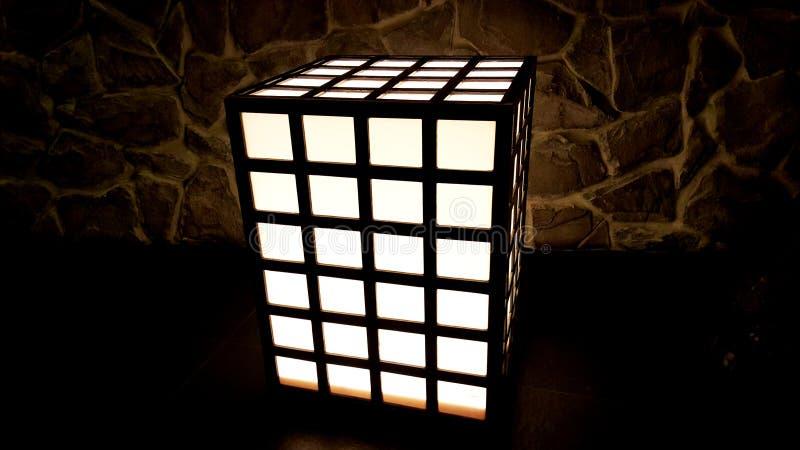 Lumière de Rubik photographie stock