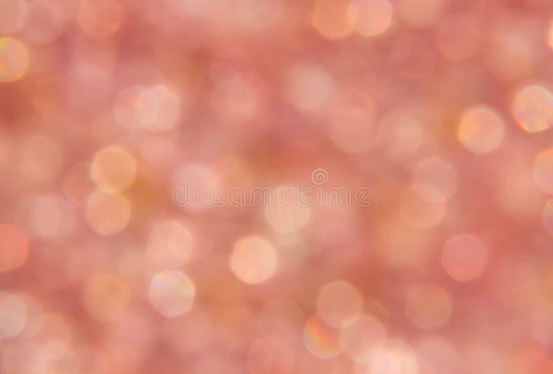 Lumière de scintillement rose images libres de droits