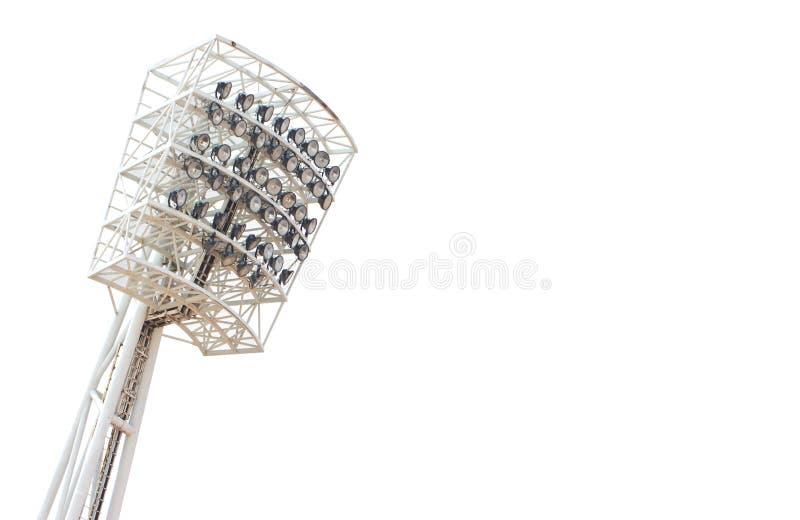 Lumière de stade. photographie stock