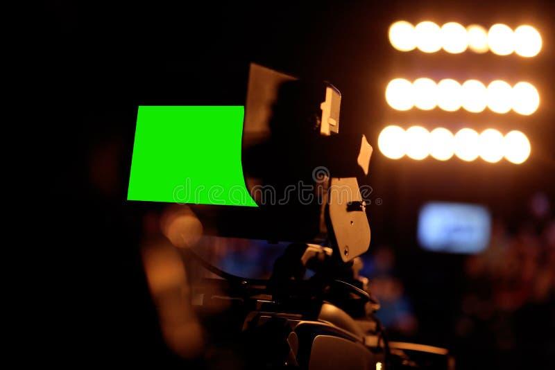 Lumière de studio images stock