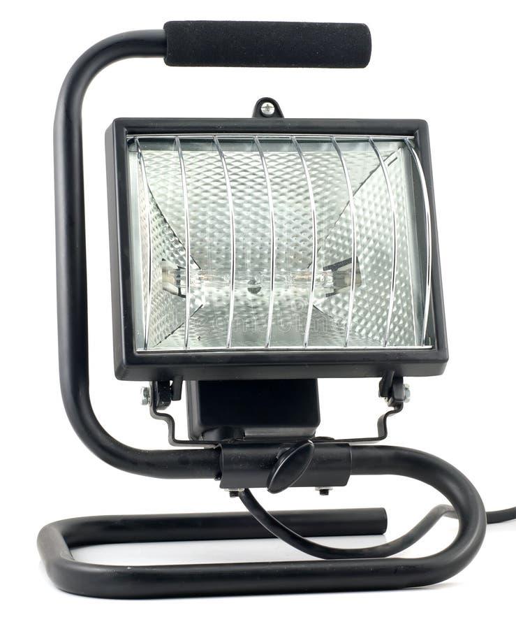 Lumière de table de travail image stock