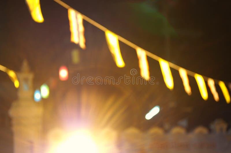 lumière de tache floue photo stock