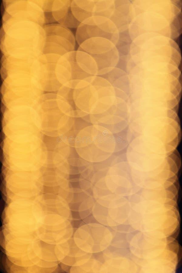 Lumière de tache floue de Bokeh images stock