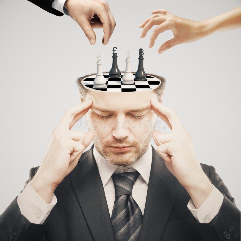 Lumière de tournoi d'échecs photographie stock libre de droits