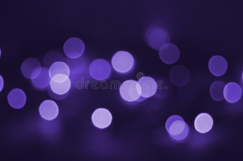 Lumière de violette de vacances images libres de droits