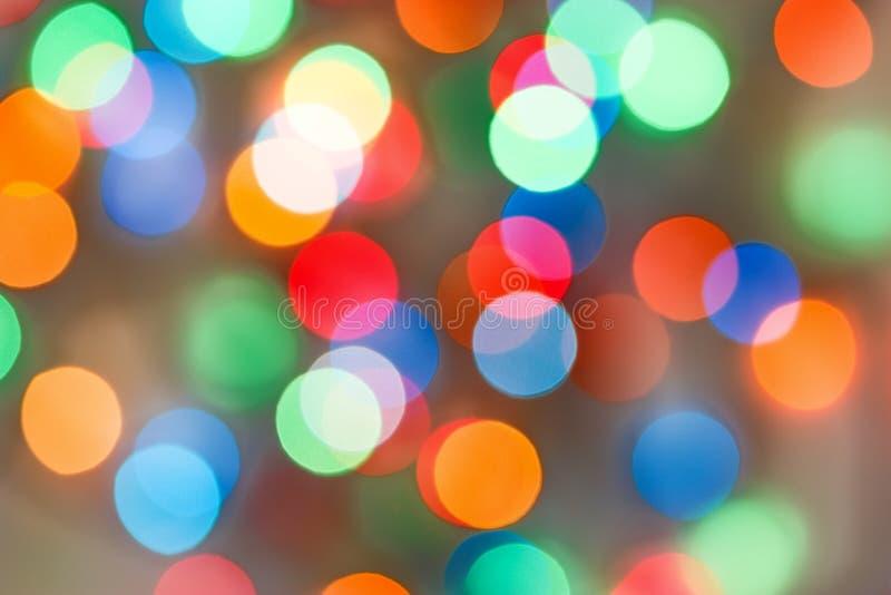 Lumière Defocused photo stock