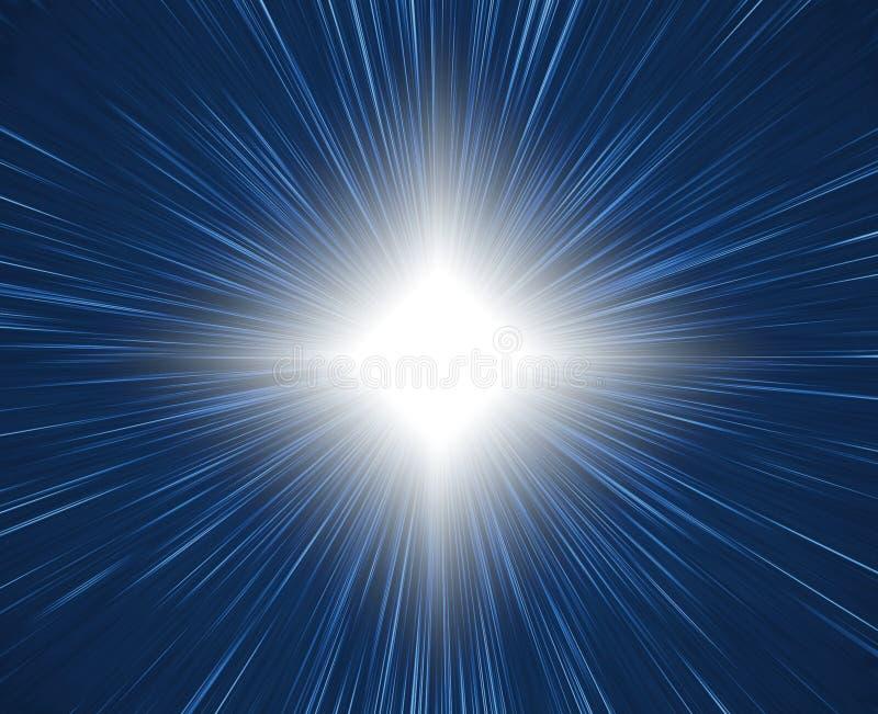 lumière des étoiles de starbright illustration libre de droits