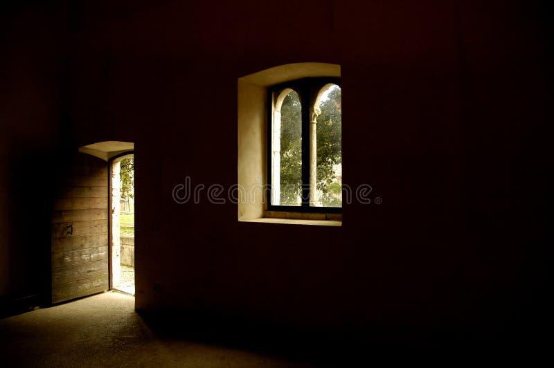 Lumière des Moyens Âges photographie stock libre de droits