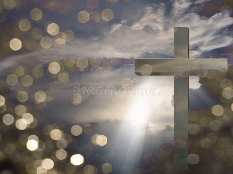 Lumière du Christ illustration de vecteur