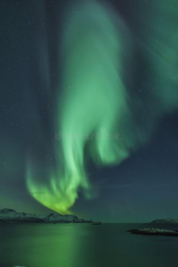 Lumière du nord photos stock