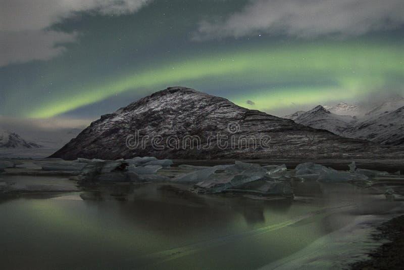 Lumière du nord images libres de droits