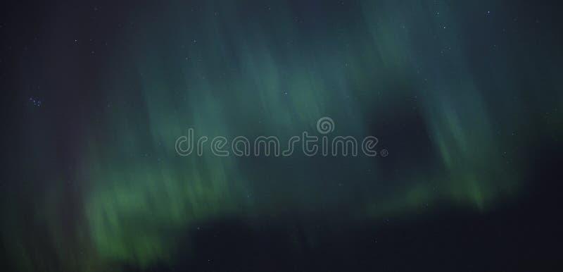 Lumière du nord, l'aurore photo libre de droits