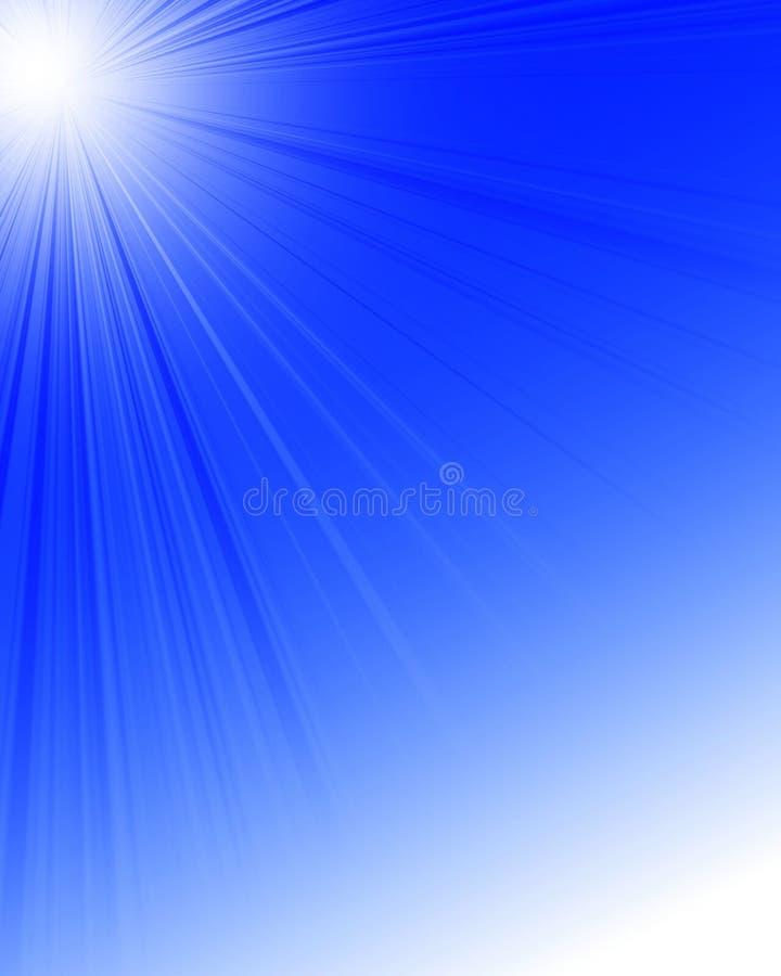 Lumière du soleil illustration stock