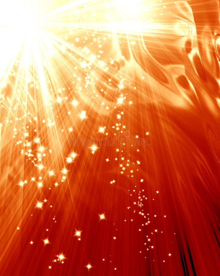 Lumière du soleil illustration de vecteur