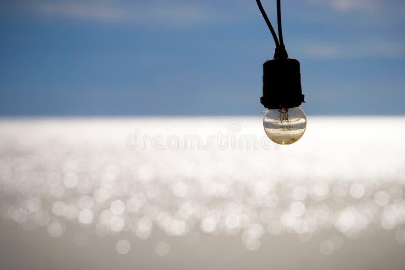 Lumière du soleil reflétant la surface éclatante photo libre de droits