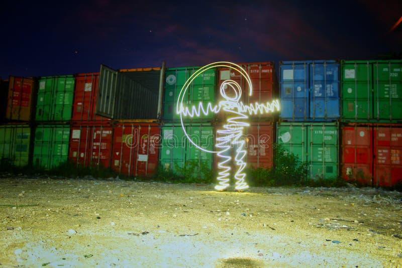 Lumière du vide photographie stock libre de droits
