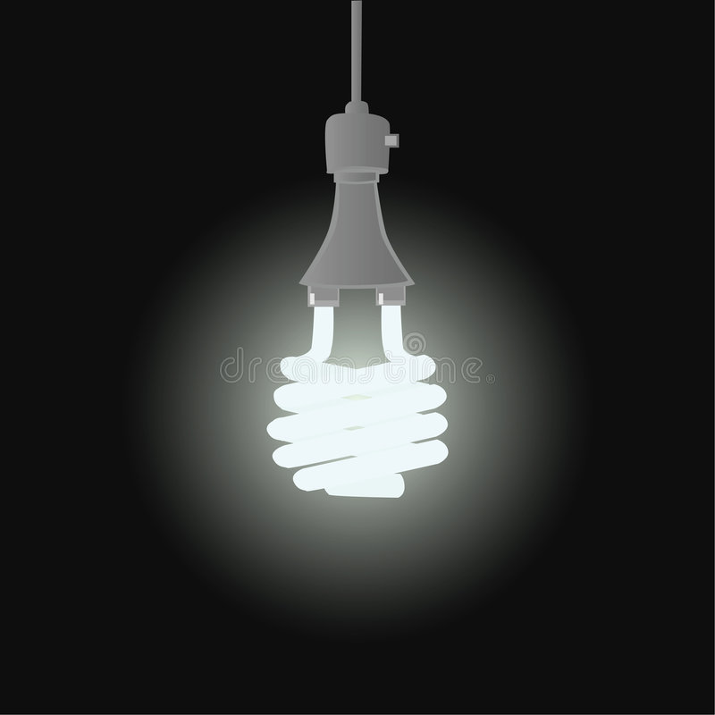 Lumière efficace illustration stock