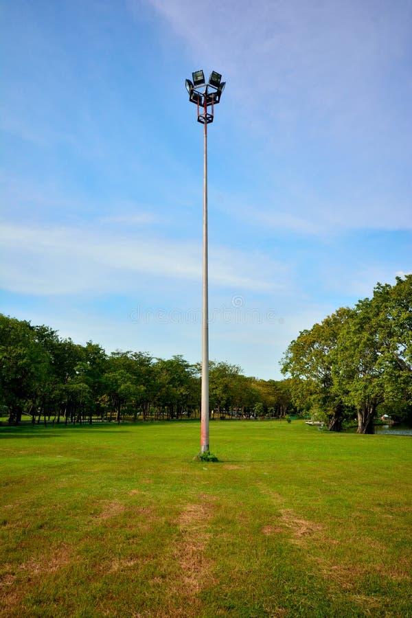 Lumière en parc image stock