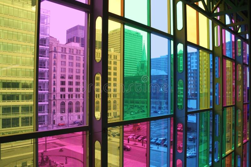 Lumière et couleur. images libres de droits