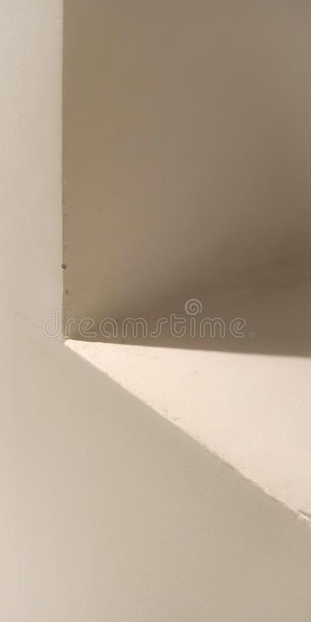 Lumière et ombre photographie stock libre de droits